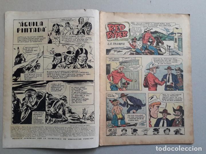 Tebeos: Red Ryder n° 16 - original editorial Novaro - Foto 2 - 204987983