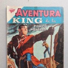 Tebeos: AVENTURA N° 111 - KING DE LA POLICÍA MONTADA - ORIGINAL EDITORIAL NOVARO. Lote 204988982