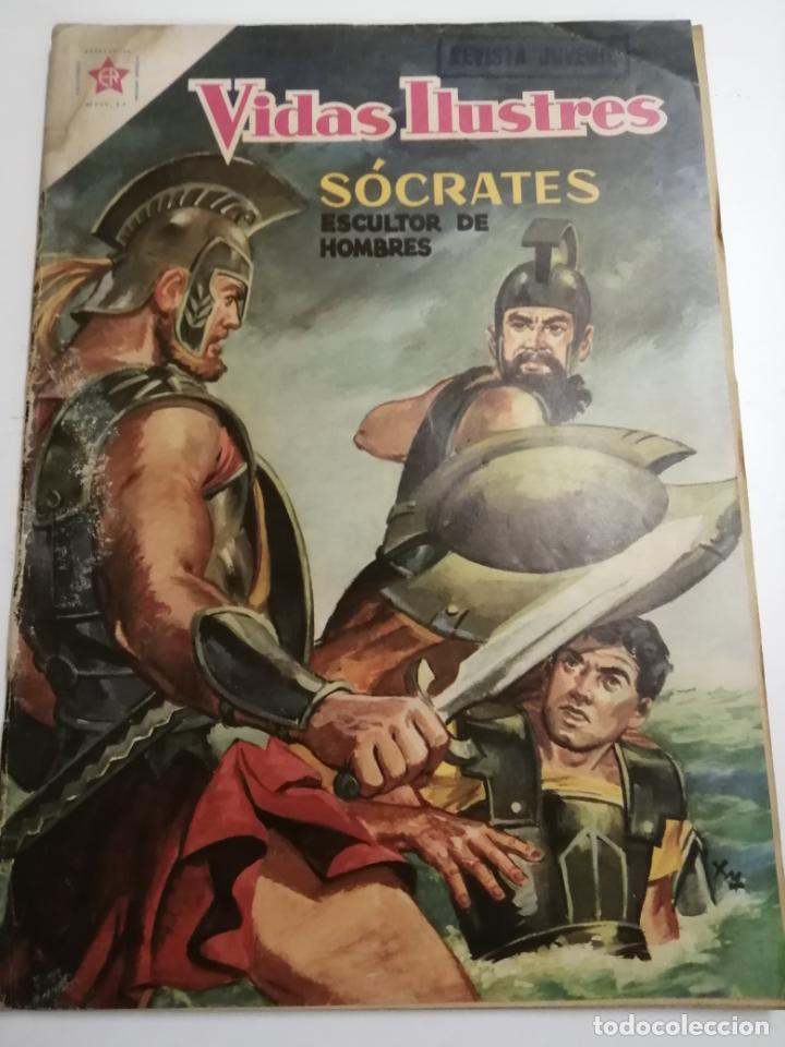 VIDAS ILUSTRES. SÓCRATES. AÑO III Nº30 1958 MÉXICO. ED.: NOVARO. POST ENCUADERNADO. (Tebeos y Comics - Novaro - Vidas ilustres)