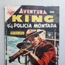 Tebeos: AVENTURA N° 12 - KING DE LA POLICÍA MONTADA - ORIGINAL EDITORIAL NOVARO. Lote 204989207