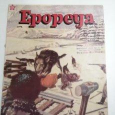 Tebeos: EPOPEYA. EL FERROCARRIL TRANSIBERIANO. AÑO IV Nº39 1961 MÉXICO. ED.: NOVARO. POST ENCUADERNADO.. Lote 204990403