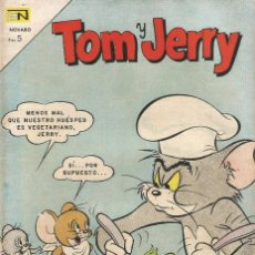 Tebeos: TOM Y JERRY REVISTA JUVENIL TEBEO COMIC EDICIONES EN NOVARO Nº 247 AÑO 1967. Lote 205124306