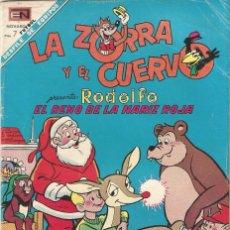 Tebeos: LA ZORRA Y EL CUERVO REVISTA INFANTIL TEBEO COMIC ED EN NOVARO Nº 217 AÑO 1969. Lote 205126165