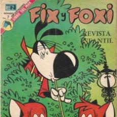 Tebeos: FIX Y FOXI REVISTA JUVENIL TEBEO COMIC EDITORIAL EN NOVARO Nº 119 AÑO 1973. Lote 205126476