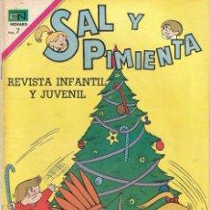 Tebeos: SAL Y PIMIENTA REVISTA INFANTIL JUVENIL ED EN NOVARO Nº 60 AÑO 1969. Lote 205127321