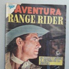 Tebeos: AVENTURA N° 115 - RANGE RIDER - ORIGINAL EDITORIAL NOVARO. Lote 205139705