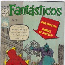 Giornalini: LOS 4 FANTÁSTICOS - Nº 36 - ENERO 15 DE 1965 *** EDITORIAL LA PRENSA MÉXICO ***. Lote 205179828