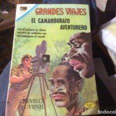 Tebeos: GRANDES VIAJES Nº 103. EL CAMAROGRAFO AVENTURERO. Lote 205201530