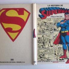 Livros de Banda Desenhada: LA HISTORIA DE SUPERMAN - PROLOGO JAVIER COMA - TAPA DURA - NOVARO - GCH1. Lote 205260250