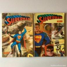 Tebeos: LOTE 2 LIBRO COMIC - SUPERMAN - TOMO XLVIII Y TOMO XXXIII - DC COMICS - 1977 - 1979. Lote 205311601