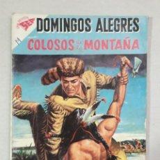 Giornalini: DOMINGOS ALEGRES N° 264 - COLOSOS DE LA MONTAÑA - ORIGINAL EDITORIAL NOVARO. Lote 205325256