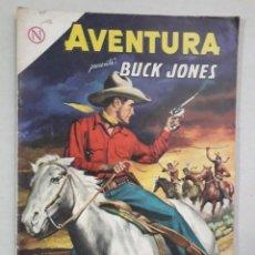 Tebeos: AVENTURA N° 337 - BUCK JONES - ORIGINAL EDITORIAL NOVARO. Lote 205325533