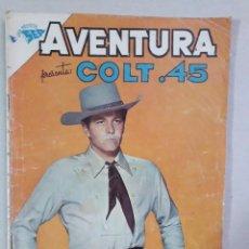 Giornalini: AVENTURA N° 221 - COLT 45 - ORIGINAL EDITORIAL NOVARO. Lote 205326997