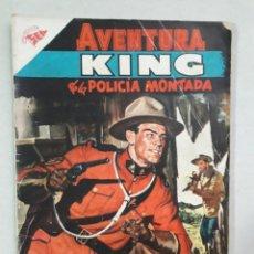 Tebeos: AVENTURA N° 64 - KING DE LA POLICÍA MONTADA - ORIGINAL EDITORIAL NOVARO. Lote 205327822