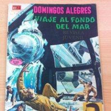 Livros de Banda Desenhada: REVISTA JUVENIL DOMINGOS ALEGRES Nº 805 - VIAJE AL FONDO DEL MAR. EDITORIAL NOVARO, 1969. Lote 103489539