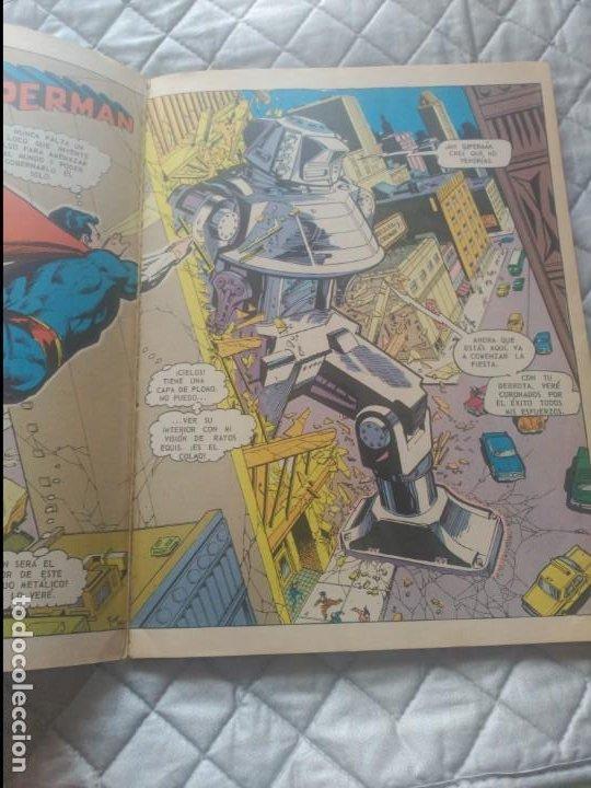 Tebeos: Supermán VS Spiderman 225 peseta en EXCELENTE ESTADO. - Foto 3 - 205563147
