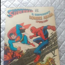 Tebeos: SUPERMÁN VS SPIDERMAN 225 PESETA EN EXCELENTE ESTADO.. Lote 205563147