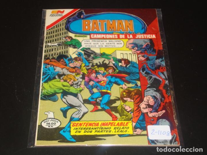 BATMAN SERIE AGUILA 2-1108 MUY BUEN ESTADO (Tebeos y Comics - Novaro - Batman)