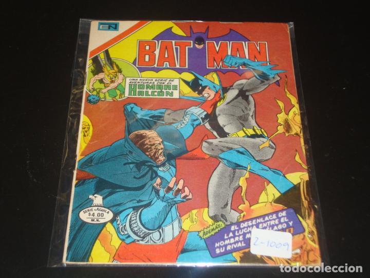 BATMAN SERIE AGUILA 2-1009 MUY BUEN ESTADO (Tebeos y Comics - Novaro - Batman)