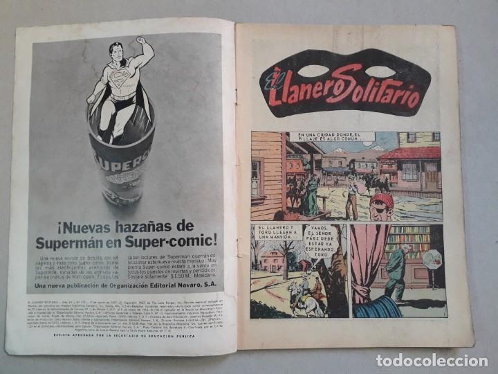 Tebeos: El llanero solitario n° 173 - original editorial Novaro - Foto 2 - 205657542