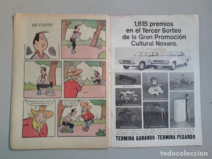 Tebeos: El llanero solitario n° 173 - original editorial Novaro - Foto 3 - 205657542