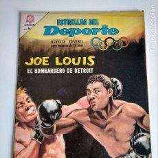 Tebeos: ESTRELLAS DEL DEPORTE. JOE LOUIS. NOVARO.. Lote 205661762