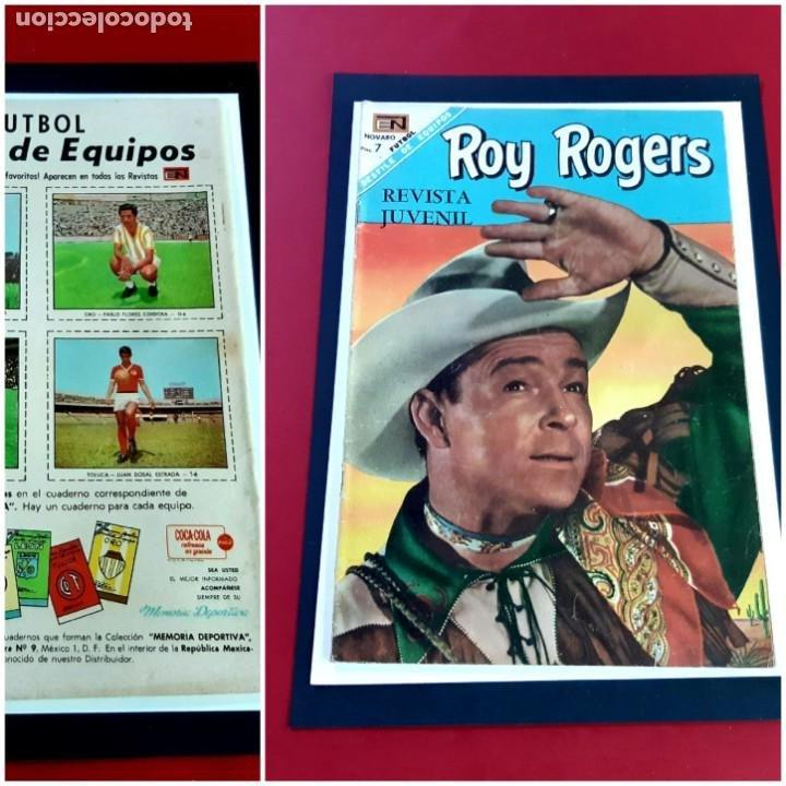 ROY ROGERS Nº 186 EXCELENTE ESTADO (Tebeos y Comics - Novaro - Roy Roger)
