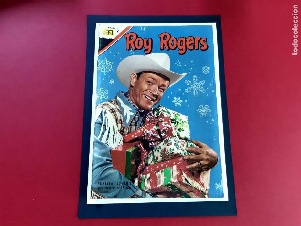 ROY ROGERS Nº 184 EXCELENTE ESTADO (Tebeos y Comics - Novaro - Roy Roger)