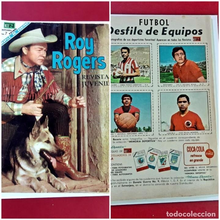 ROY ROGERS Nº 195 EXCELENTE ESTADO (Tebeos y Comics - Novaro - Roy Roger)