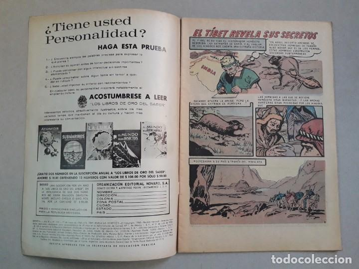 Tebeos: Epopeya n° 120 - El Tibet revela sus secretos - original editorial Novaro - Foto 2 - 205671847