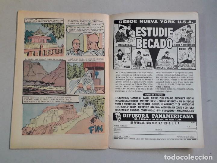 Tebeos: Epopeya n° 120 - El Tibet revela sus secretos - original editorial Novaro - Foto 3 - 205671847