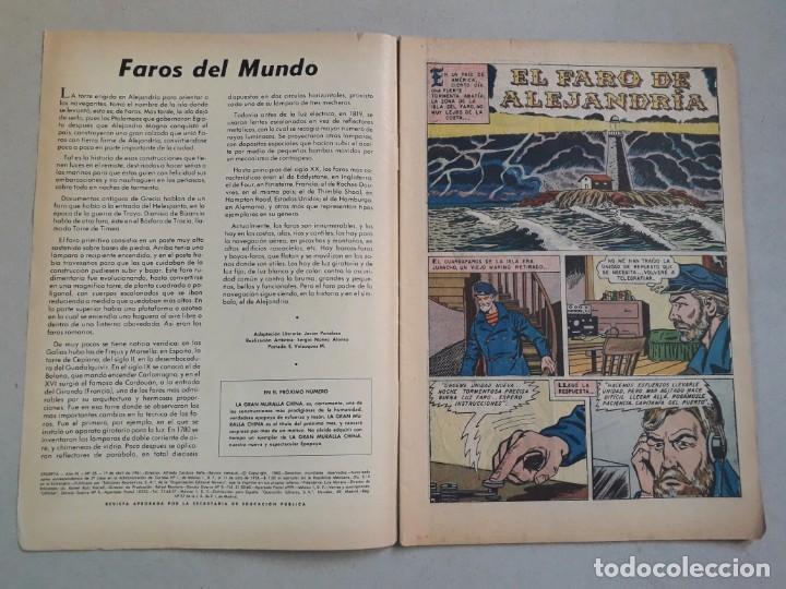 Tebeos: Epopeya n° 35 - El faro de Alejandría - original editorial Novaro - Foto 2 - 205673028