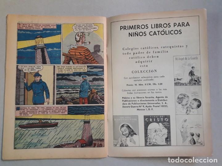 Tebeos: Epopeya n° 35 - El faro de Alejandría - original editorial Novaro - Foto 3 - 205673028