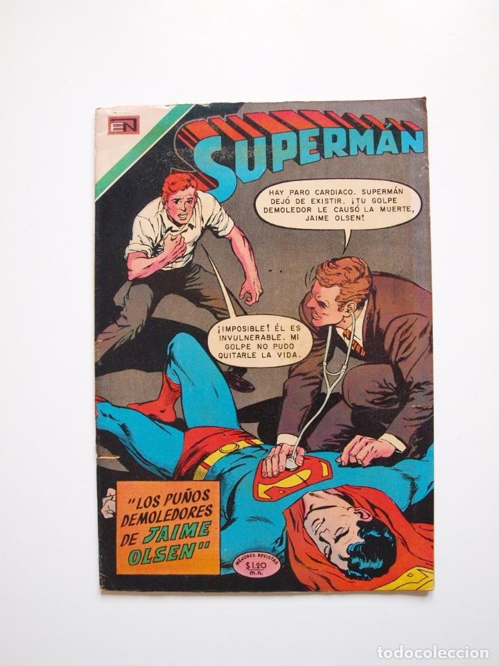 SUPERMÁN - Nº 791 - LOS PUÑOS DEMOLEDORES DE JAIME OLSEN - NOVARO 1970 (Tebeos y Comics - Novaro - Superman)