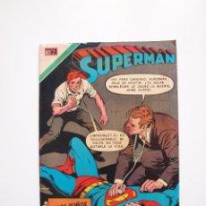 Tebeos: SUPERMÁN - Nº 791 - LOS PUÑOS DEMOLEDORES DE JAIME OLSEN - NOVARO 1970. Lote 205717778
