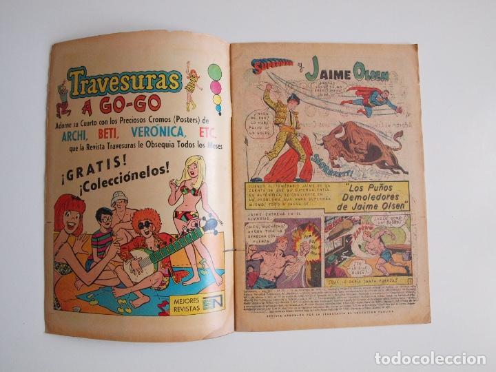 Tebeos: SUPERMÁN - Nº 791 - LOS PUÑOS DEMOLEDORES DE JAIME OLSEN - NOVARO 1970 - Foto 2 - 205717778