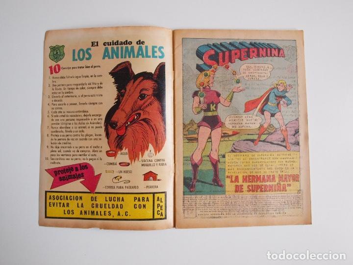 Tebeos: SUPERMÁN - Nº 792 - LA HERMANA MAYOR DE SUPERNIÑA - NOVARO 1970 - Foto 2 - 205718932