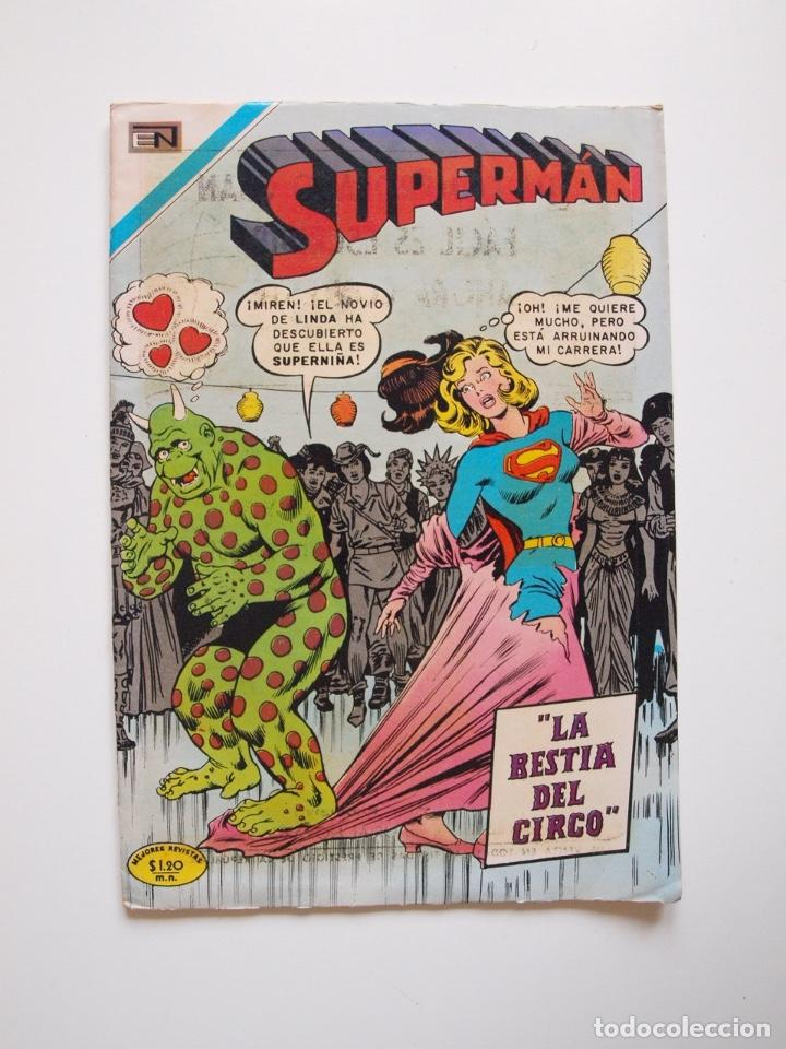 SUPERMÁN - Nº 796 - LA BESTIA DEL CIRCO - NOVARO 1971 (Tebeos y Comics - Novaro - Superman)