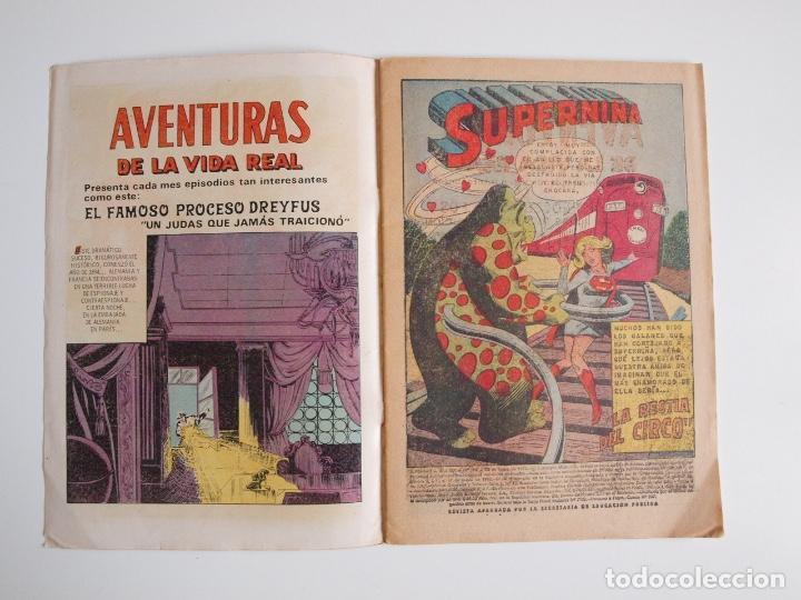 Tebeos: SUPERMÁN - Nº 796 - LA BESTIA DEL CIRCO - NOVARO 1971 - Foto 2 - 205719936