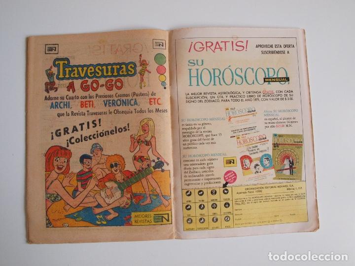 Tebeos: SUPERMÁN - Nº 796 - LA BESTIA DEL CIRCO - NOVARO 1971 - Foto 5 - 205719936