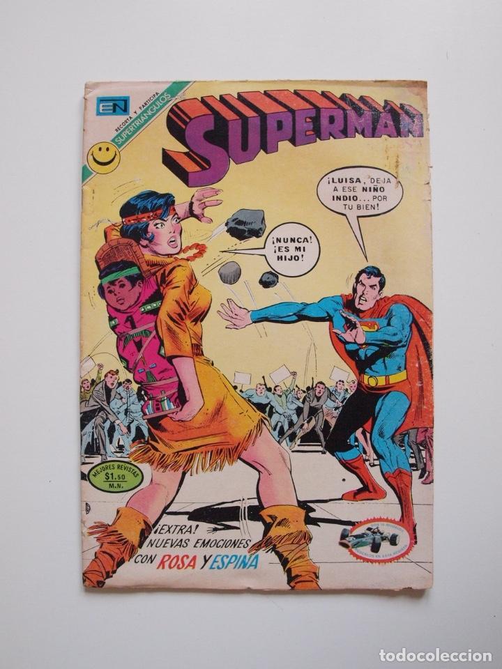 SUPERMÁN - Nº 867 - LUISA LANE, ROSA Y ESPINA - NOVARO 1972 (Tebeos y Comics - Novaro - Superman)