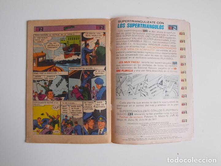 Tebeos: SUPERMÁN - Nº 867 - LUISA LANE, ROSA Y ESPINA - NOVARO 1972 - Foto 4 - 205721108