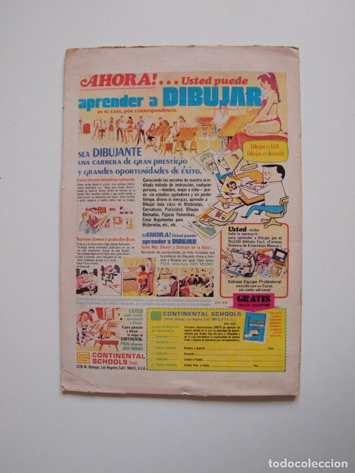 Tebeos: SUPERMÁN - Nº 867 - LUISA LANE, ROSA Y ESPINA - NOVARO 1972 - Foto 5 - 205721108