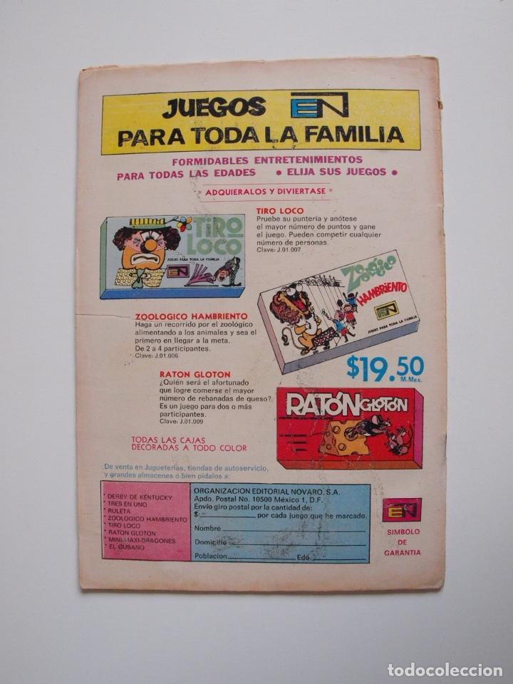 Tebeos: SUPERMÁN - Nº 876 - EL ÁRBOL HUMANO - LUISA LANE, ROSA Y ESPINA - NOVARO 1972 - Foto 5 - 205722215