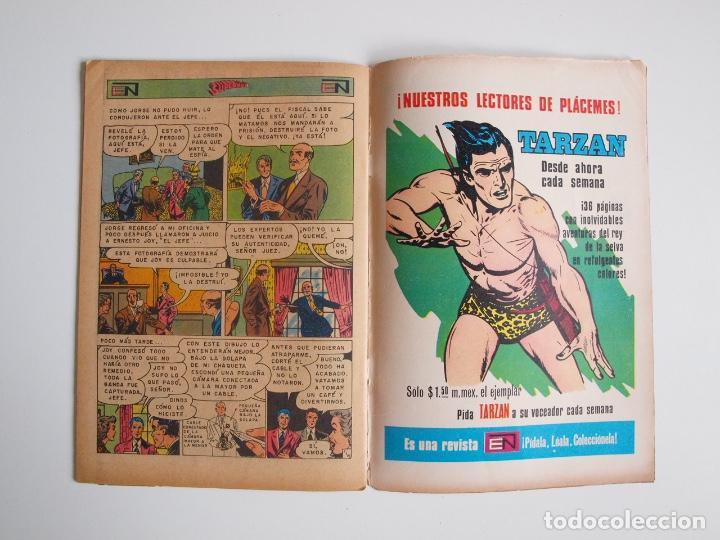 Tebeos: SUPERMÁN - Nº 888 - SOSPECHA CONFIRMADA - SUPERNIÑA, EL SEÑOR FISCAL - NOVARO 1972 - Foto 7 - 205723966