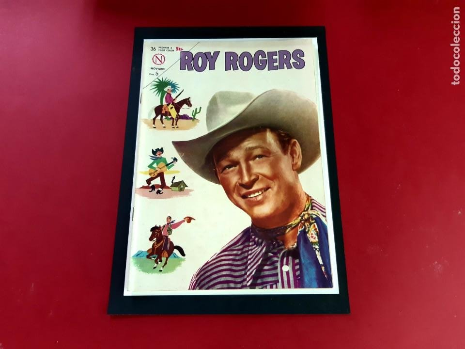 ROY ROGERS Nº 136 IMPECABLE ESTADO (Tebeos y Comics - Novaro - Roy Roger)