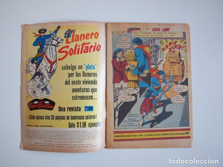 Tebeos: SUPERMÁN - Nº 932 - LUISA LANE, BATMAN Y ROBIN, LA MUJER GATO - NOVARO 1973 - Foto 2 - 205799453