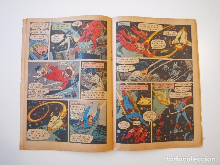 Tebeos: SUPERMÁN - Nº 932 - LUISA LANE, BATMAN Y ROBIN, LA MUJER GATO - NOVARO 1973 - Foto 3 - 205799453