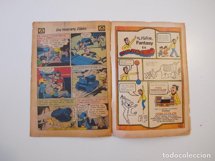 Tebeos: SUPERMÁN - Nº 932 - LUISA LANE, BATMAN Y ROBIN, LA MUJER GATO - NOVARO 1973 - Foto 5 - 205799453