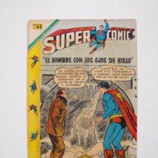 Tebeos: SUPER COMIC - SUPERCOMIC - Nº 39 - EL HOMBRE CON LOS OJOS DE HIELO - SUPERMAN - NOVARO 1970. Lote 205800720